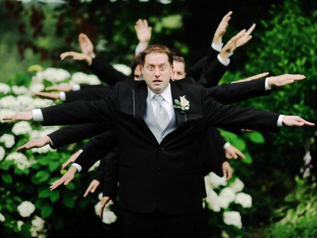 Друзья жениха, без которых свадебная фотосессия была бы скучнейшим мероприятием
