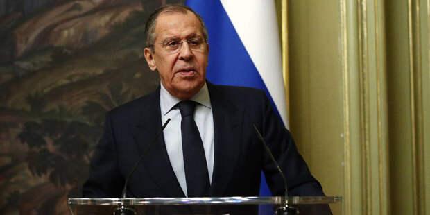 Визит главы МИД РФ в Берлин отменили