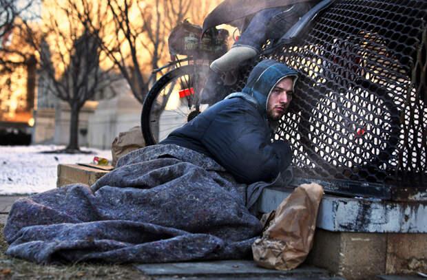 Как заночевать зимой на улице и не замерзнуть от холода