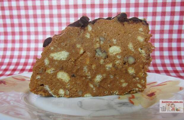 Торт «Муравейник» (без выпечки)