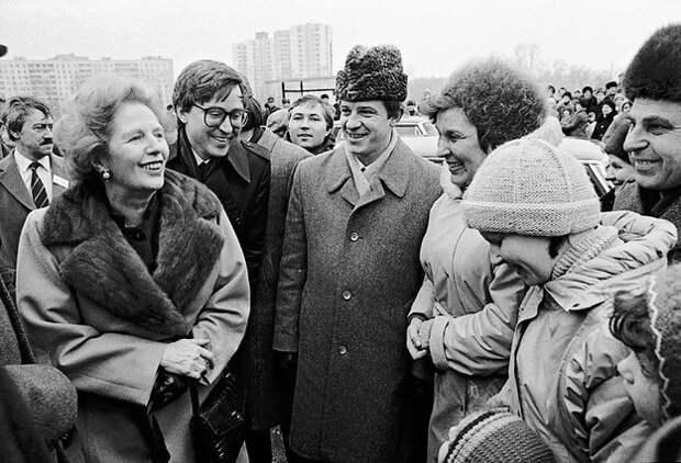 Как Тэтчер в 1983 году выбрала Горбачёва перестройщиком