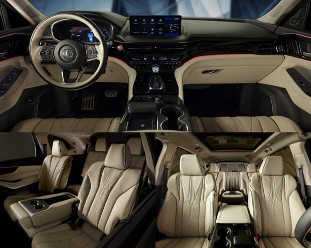Кроссовер Acura MDX предстал в почти серийном обличье
