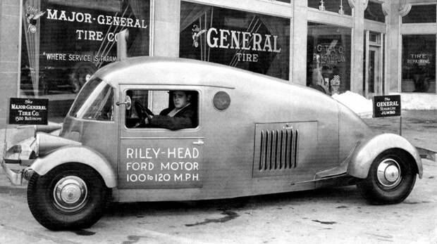 В 1933–1940 годах кузовная фирма Libby Body собрала 29 рекламных машин Riley-Ford авто, автомобили, атодизайн, дизайн, интересный автомобили, олдтаймер, ретро авто, фургон