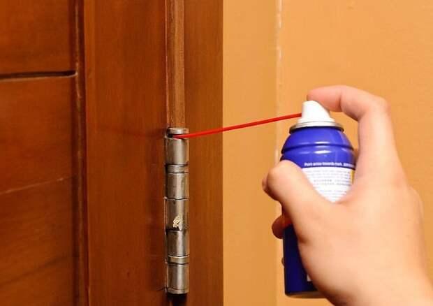 Простое средство, которое избавит от скрипа дверных петель