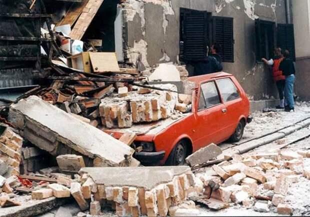 Тихий геноцид: как НАТО под видом борьбы с тиранией Милошевича уничтожала мирных жителей