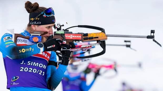 Сборная Франции выиграла сингл-микст на чемпионате мира по биатлону, Россия — 11-я