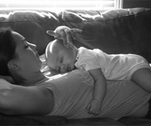 Здоровый сон молодой мамы