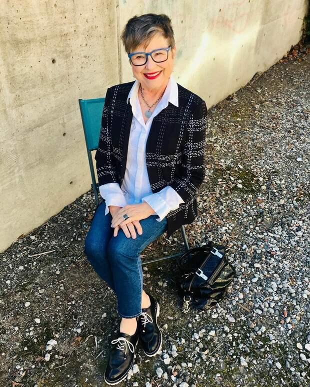 Современная женщина 60+. Как использовать модные тренды.