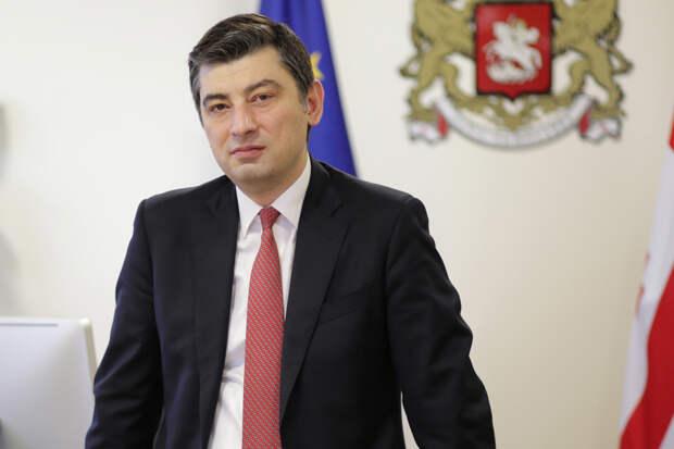 Георгий Гахария ушёл с поста премьер-министра Грузии
