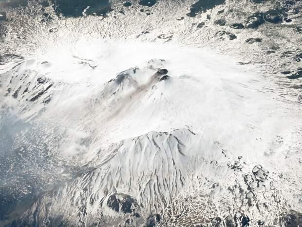 Вулкан Этна, Италия. 10 марта 2018 года. Изображение ©2018 Planet Labs, Inc. cc-by-sa 4.0.