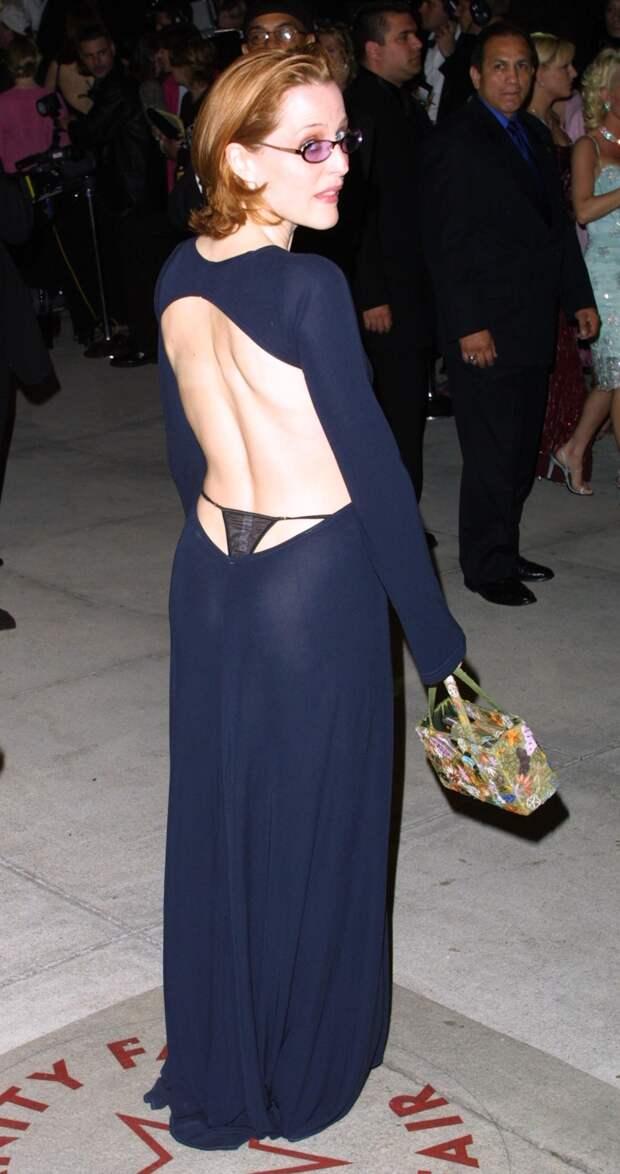 Джиллиан Андерсон на «Оскаре», 2001