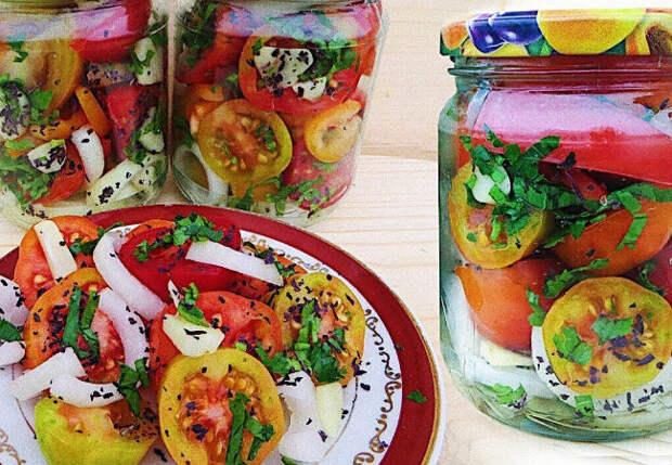 Делаем вкуснейшую овощную закуску и прячем до зимы