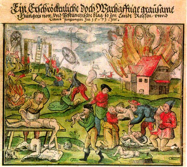 Каннибализм как часть европейской традиции.