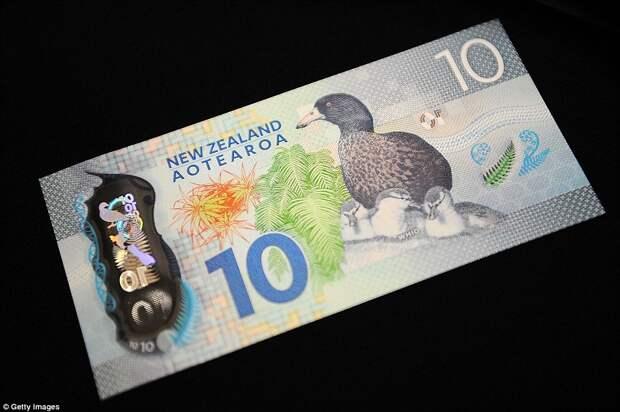 10 новозеландских долларов