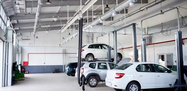 Одобрено строительство автосервиса в районе Солнцево