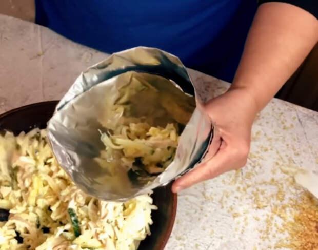 Задабриваем бычка: салата «Золотой стог сена» для новогоднего стола