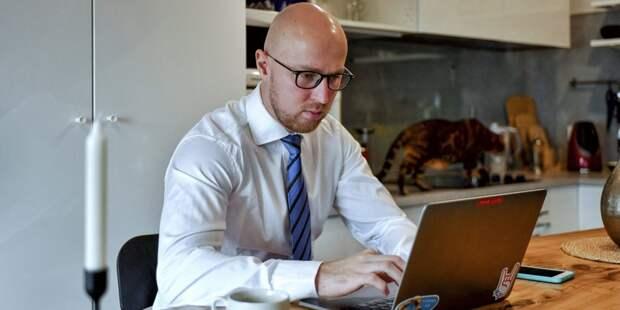 Предприятиям рекомендовано перевести большую часть сотрудников на удаленную работу / Фото: mos.ru