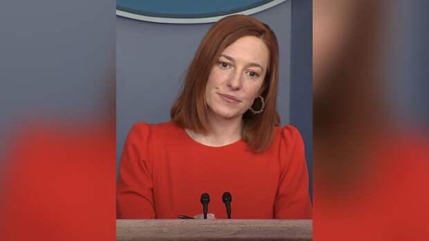 Джен Псаки рассказала, когда оставит пост пресс-секретаря Белого дома