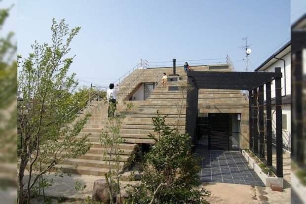 Когда крыша - это тоже лестница. /Фото: devisare.com