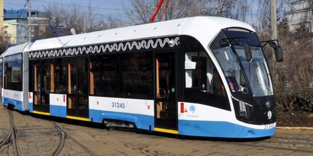Все маршруты трамваев вышли «на работу»