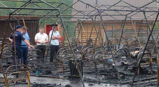 В Хабаровске рассказали о состоянии детей, пострадавших при пожаре в лагере