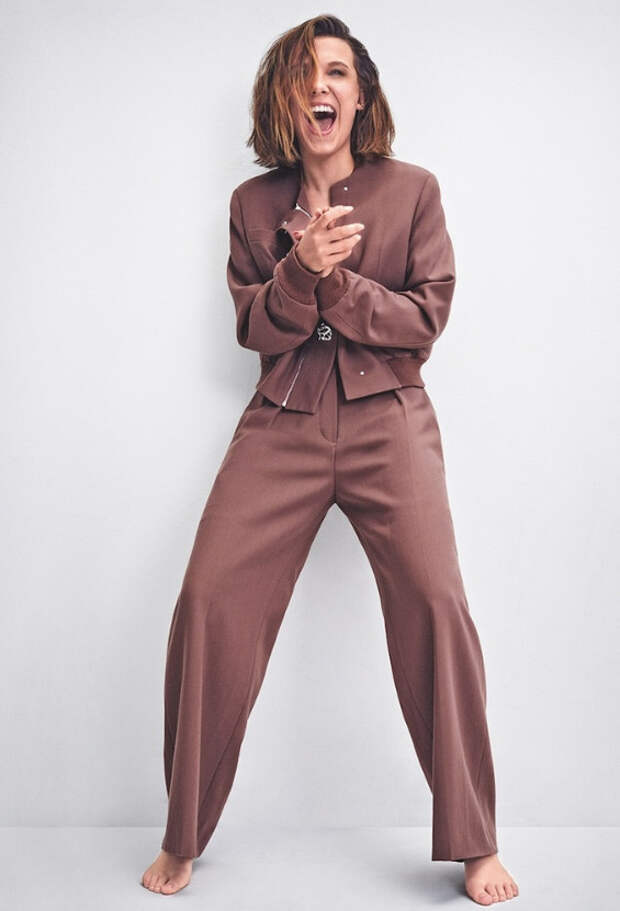 Милли Бобби Браун в фотосессии для S Moda Magazine