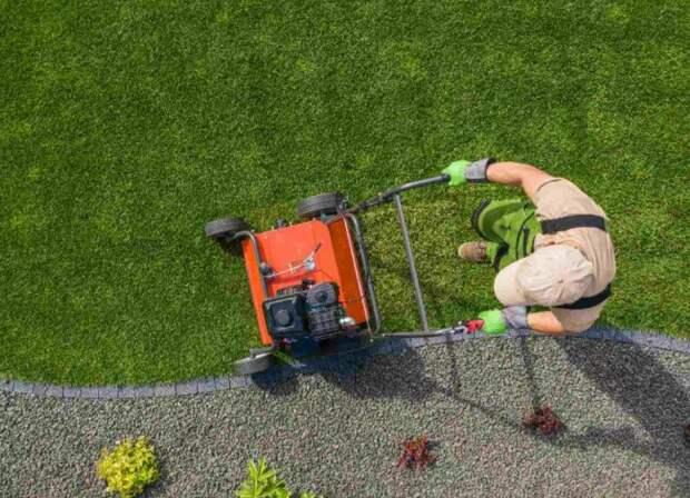 Как выровнять землю под газоном?