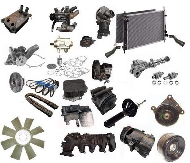 Запчасти для Volkswagen Crafter: как выбрать лучший вариант