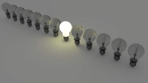 Лампочки, Свет, Идея, Энергия, Лампы, Человек, Босс