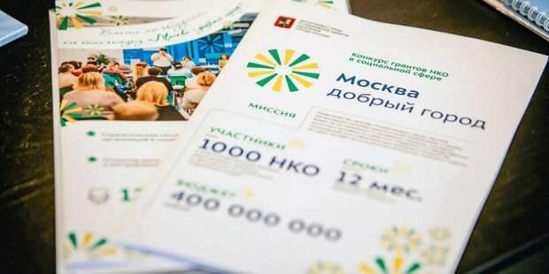 Более 300 НКО соцсферы подали заявки на гранты правительства Москвы. Фото: mos.ru