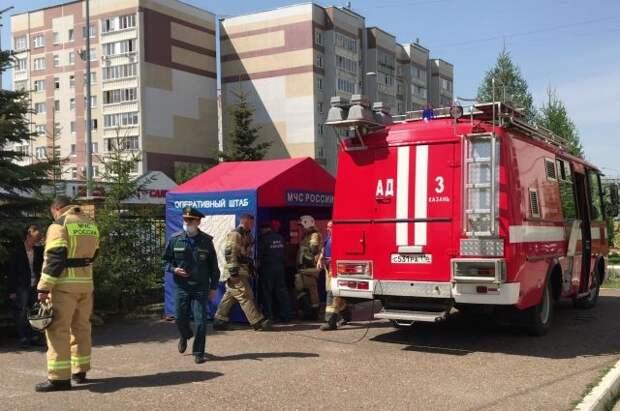 Спецборт МЧС вылетел в Казань для эвакуации пострадавших при стрельбе