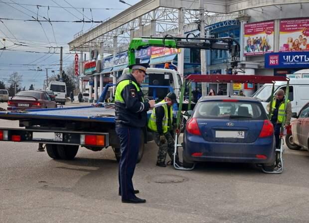 Тарифы на эвакуацию и содержание авто на штрафплощадке в Севастополе