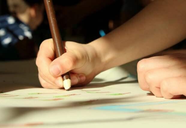 Конкурс детского рисунка стартовал в Северном Тушине