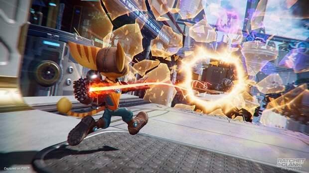 Insomniac Games в новом трейлере Ratchet & Clank: Rift Apart показала разнообразие оружия и возможности перемещения