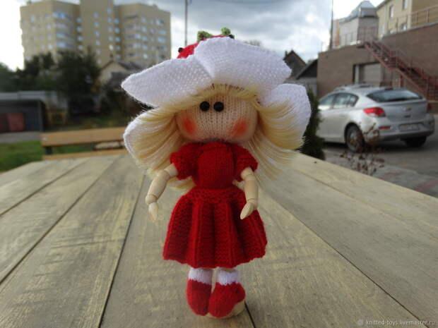 Шарнирная кукла Клубничная феечка, Мягкие игрушки, Липецк,  Фото №1