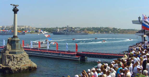 Цивилизованный вариант для просмотра парада и салюта на День ВМФ в Севастополе  (фото, программа)