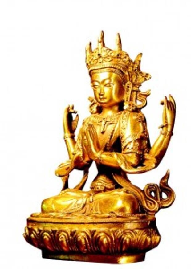 Буддийская богиня бессмертия Гуань инь