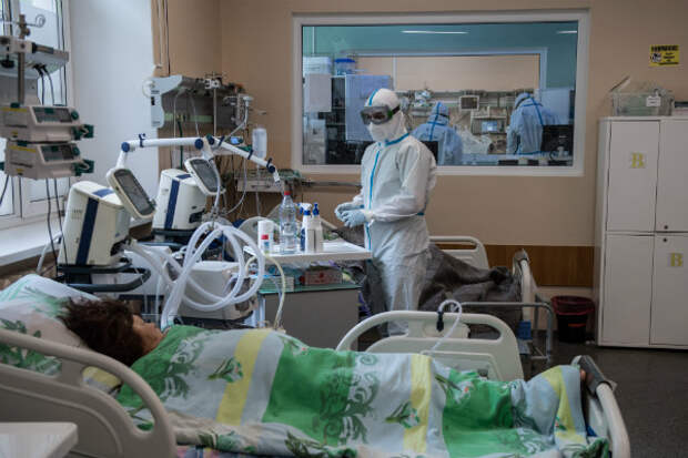 Мэрия Москвы: койки для больных COVID-19 закончатся через 2 – 3 недели