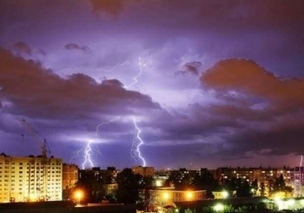 Калужан ждут затяжные дожди и грозы