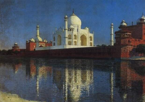 Один из самых грандиозных памятников индийской архитектуры.