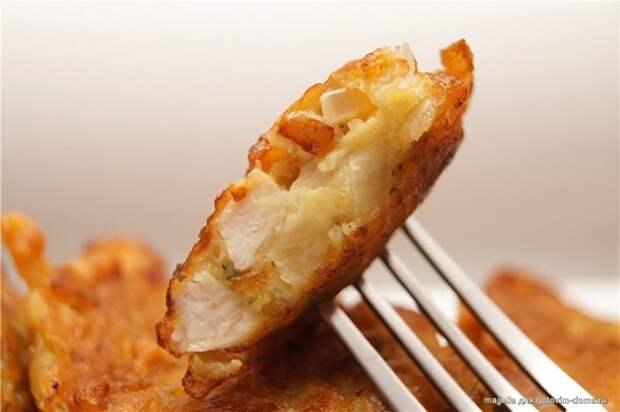 Рецепт на выходной: Куриные оладьи