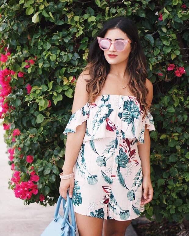 20 вариантов модного цветочного принта в современных вещах