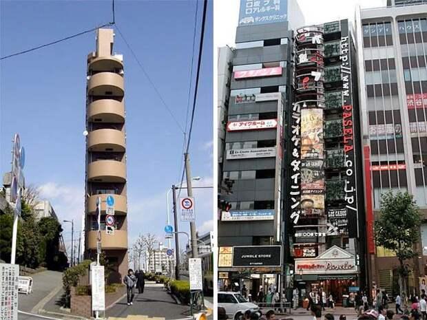 ПО ГОРОДАМ И СТРАНАМ. Самые узкие здания в мире