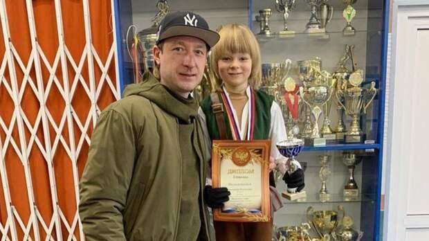 Сын Плющенко выиграл турнир в Зеленограде по 1-му юношескому разряду