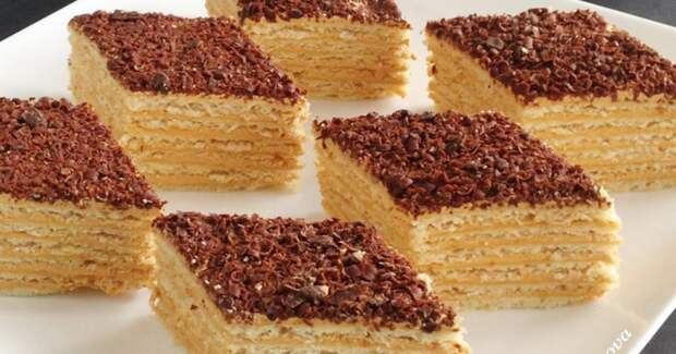 ЧЕРЕСЧУР вкусный АРМЯНСКИЙ торт «МИКАДО»