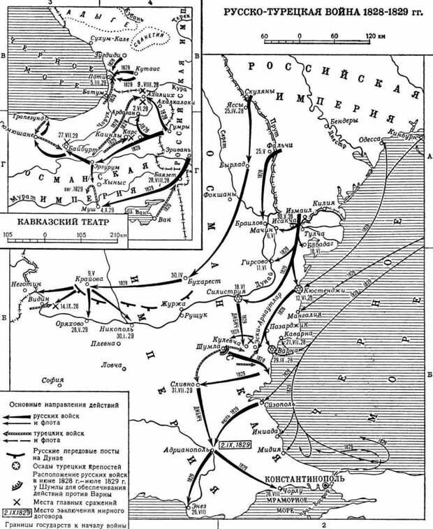 190 лет назад Россия объявила войну Турции