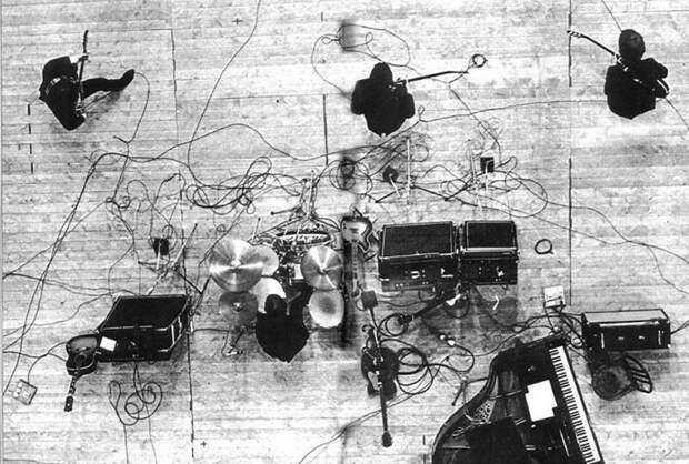 Концерт Битлз в Париже. 1965