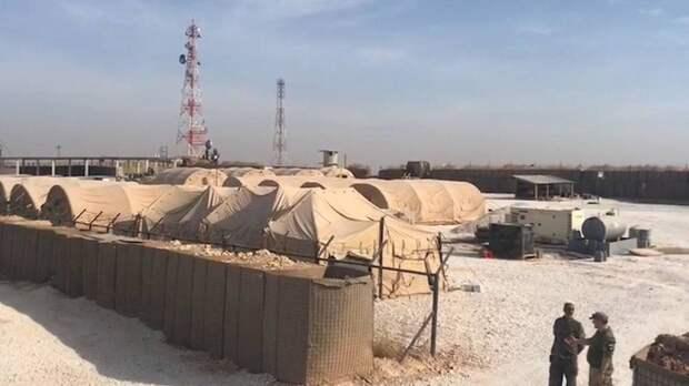 Военная база США в Сирии подверглась обстрелу беспилотников