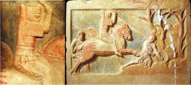 Катафракты античности. Возникновение