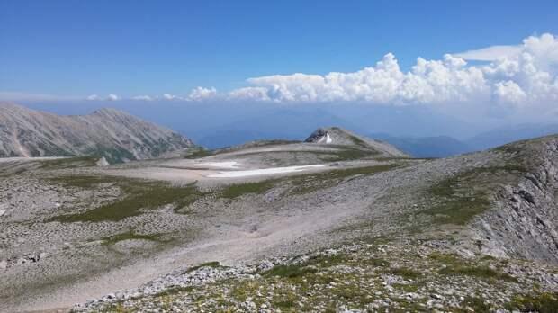 Плоская вершина Пшеха-Су.